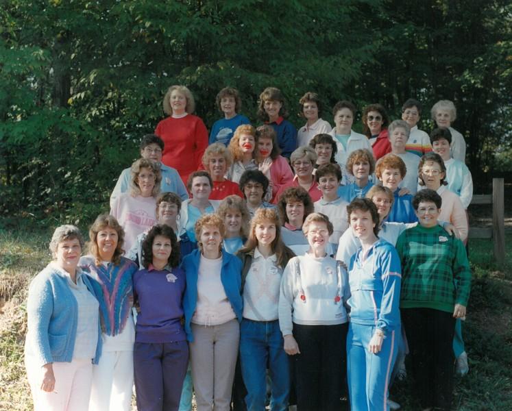 Women's Fitness Camp, September 25-30, 1988 Judy Thomas, Dean