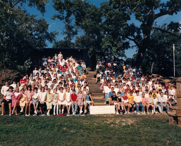 Junior 4, August 14-20, 1988 Paul McCuiston, Dean