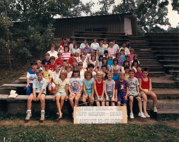 First Chance 4, August 10-13, 1988 Jeff Helton, Dean