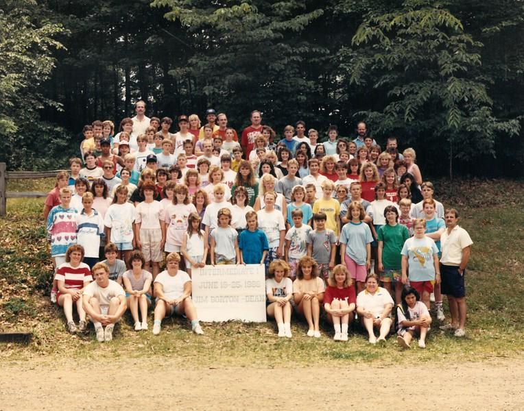 Intermediate 1, June 19-25, 1988 Jim Borton, Dean