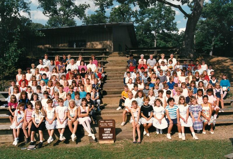 First Chance 3, Aug 6-9, 1989 Bill Meaige, Dean