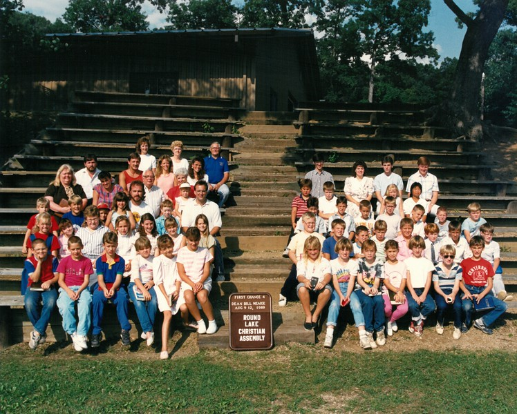 First Chance 4, Aug 9-12, 1989 Bill Meaige, Dean