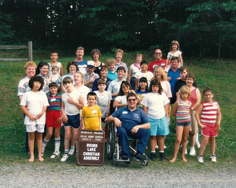 Physically Disabled, Aug 2-5, 1989 Jerry Borton, Dean