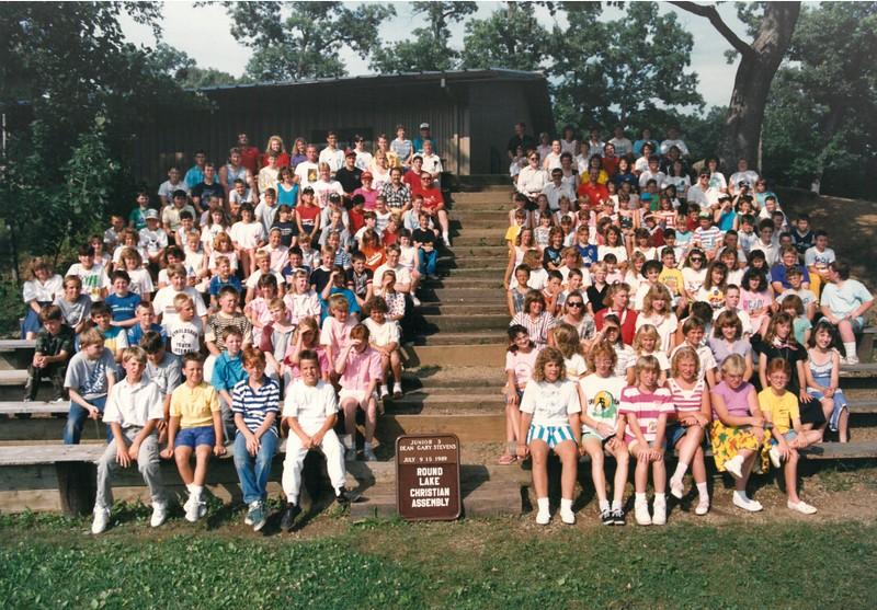 Junior 3, July 9-15, 1989 Gary Stevens, Dean