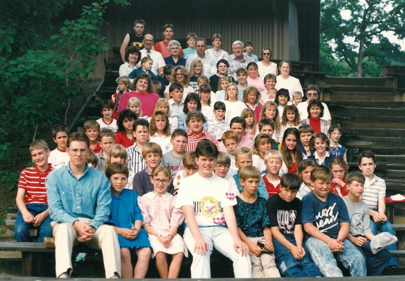 Junior 1, June 11-17, 1989 Hugh Snepp, Dean
