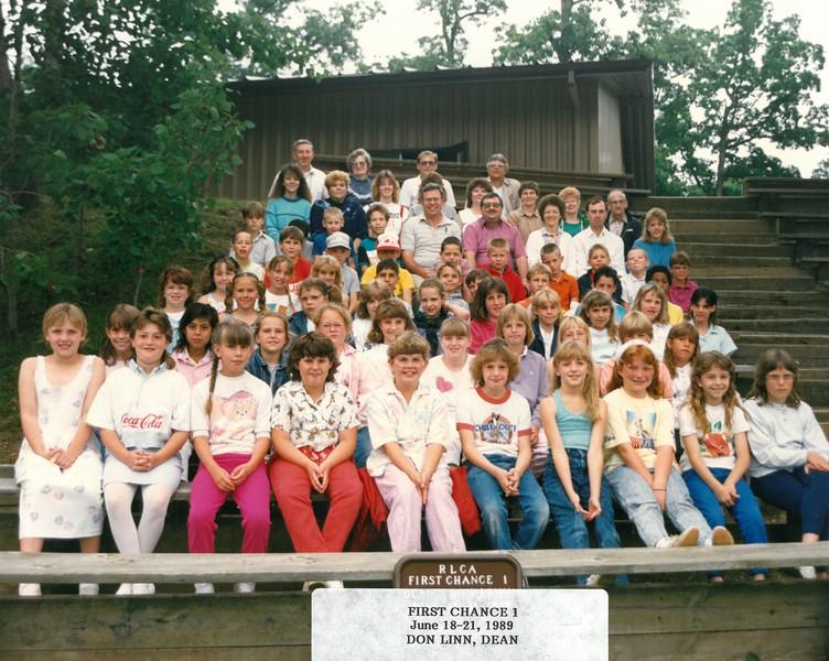 First Chance 1, June 18-21, 1989 Don Linn, Dean