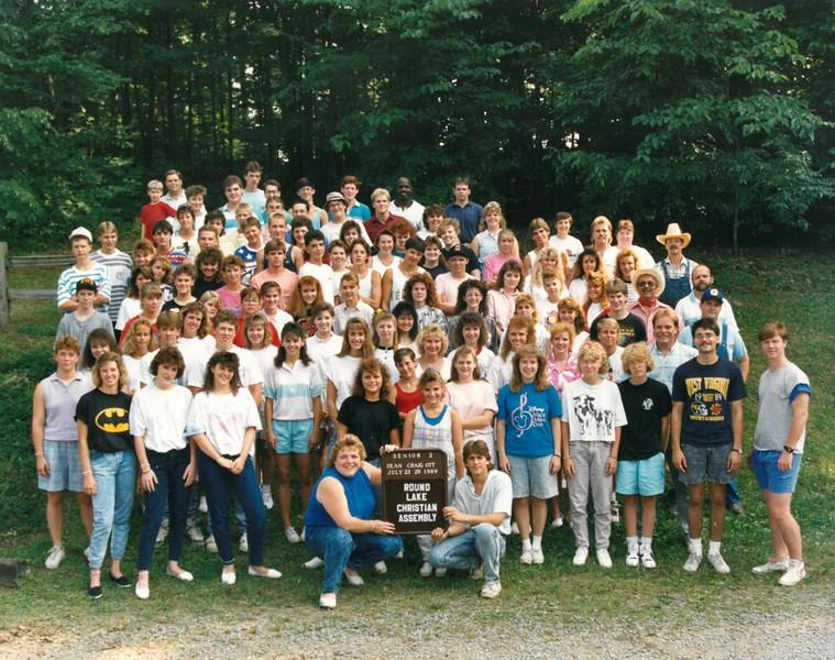 Senior 2, July 23-29, 1989 Craig Ott, Dean