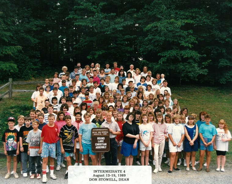 Intermediate 4, Aug 13-19, 1989 Don Stowell, Dean