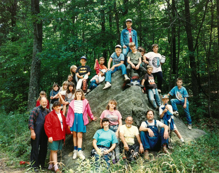 JR HI Wilderness Rustic, July 8-14, 1990, Dan Gault, Dean