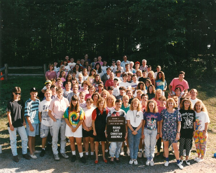 Senior 1, July 14-20, 1991 Keith Groves, Dean