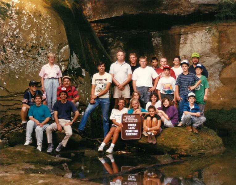 Junior High Backpack 1, July 14-20, 1991 Ed Harnish, Dean