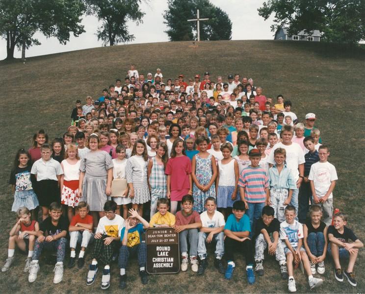Junior 4, July 21-27, 1991 Tom Benter, Dean