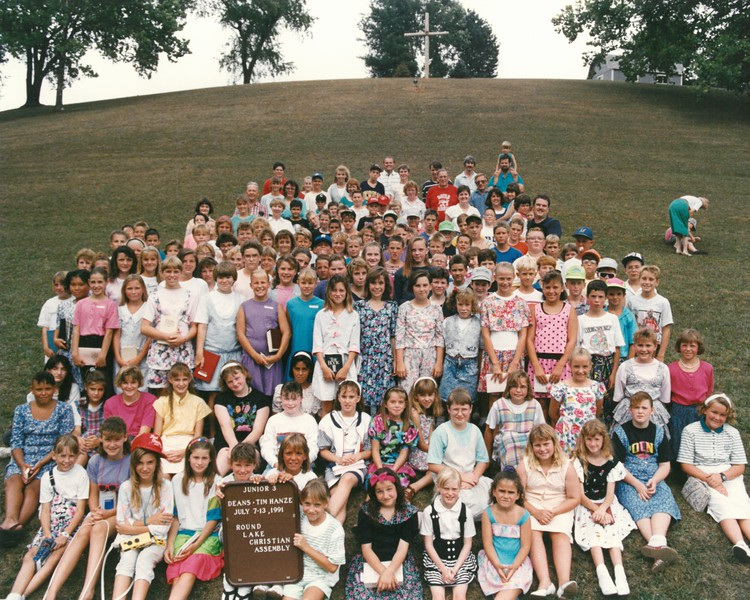 Junior 3, July 7-13, 1991 Tim Hanze, Dean