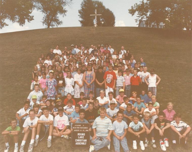 Junior 5, August 11-17, 1991 Tom McFadden, Dean