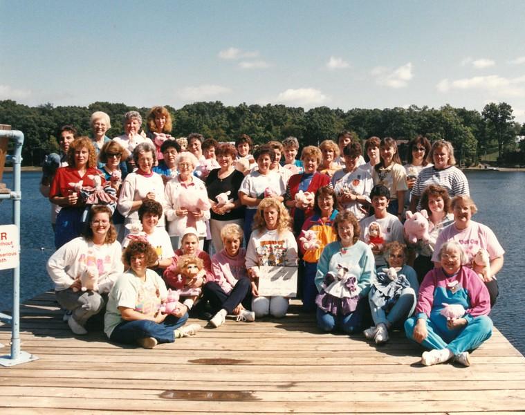 Women's Fitness Camp, September 22-27, 1991 Cindy Daniels & Donna Jones, Deans
