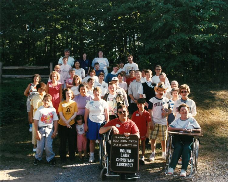 Handicap Week, July 31-August 3, 1991 Jerry Borton, Dean