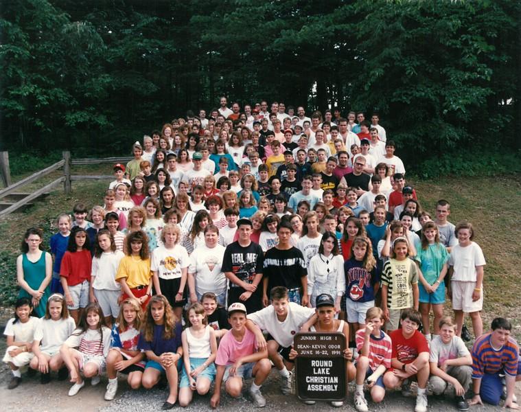 Junior High 1, June 16-22, 1991 Kevin Odor, Dean