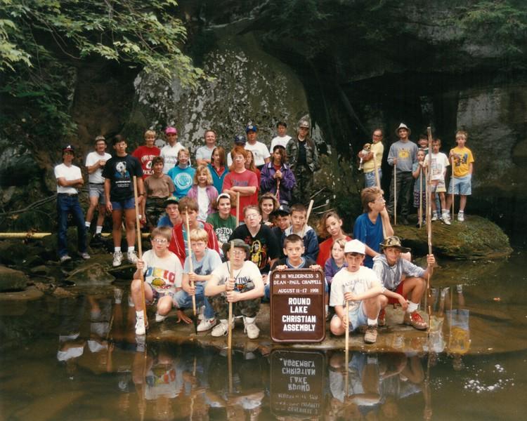 Junior High Wilderness 3, August 11-17, 1991, Paul Chappell, Dean