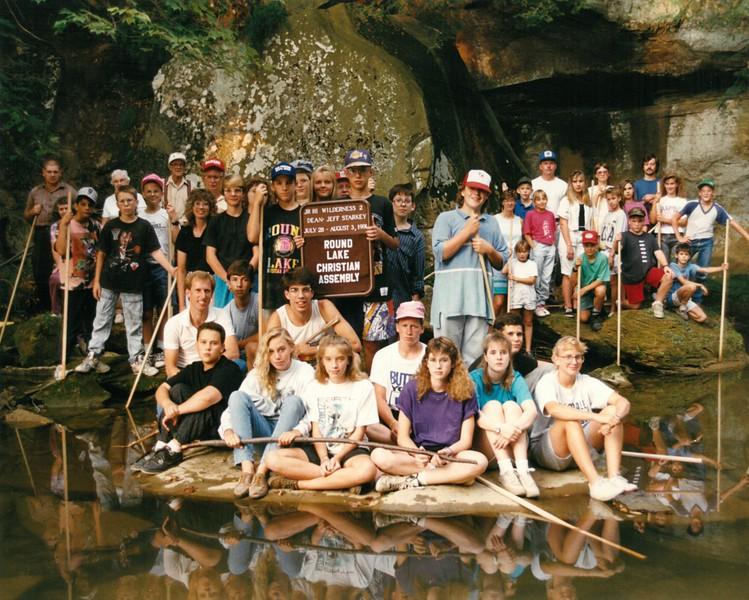 Junior High Wilderness 2, July 28-August 3, 1991 Jeff Starkey, Dean