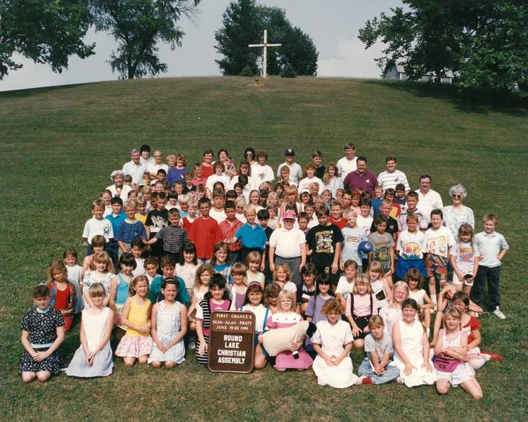 First Chance 2, June 19-22, 1991 Alan Pratt, Dean