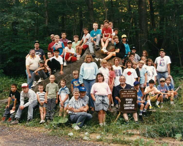 Pow Wow 2, July 14-17, 1991 Dan Gault, Dean
