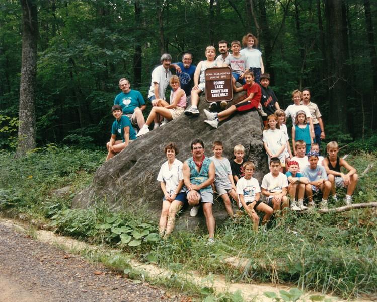 Pow Wow 1, June 30-July 3, 1991 Dale Duncan, Dean