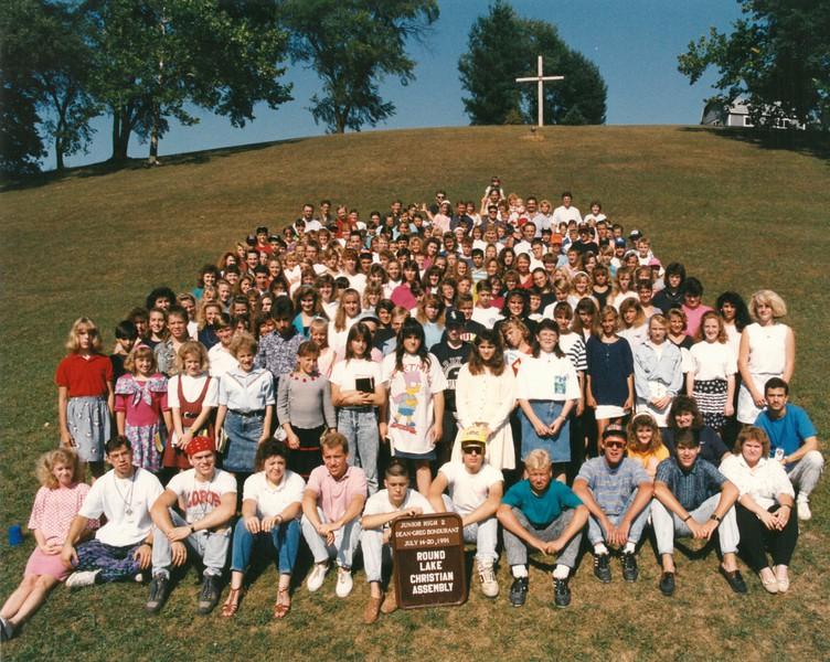 Junior High 2, July 14-20, 1991 Greg Bondurant, Dean