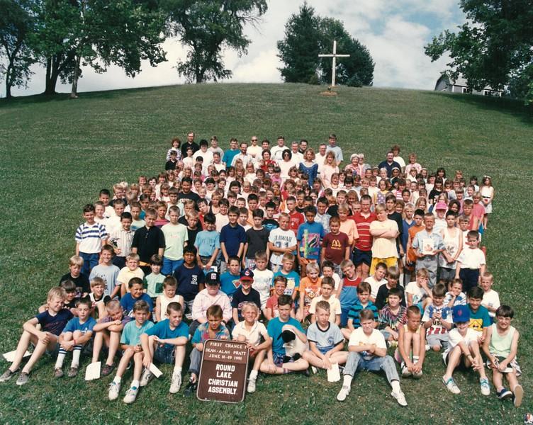 First Chance 1, June 16-19, 1991 Alan Pratt, Dean