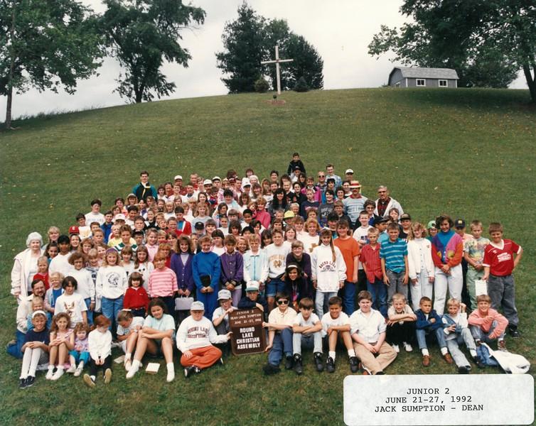 Junior 2, June 21-27, 1992 Jack Sumption, Dean