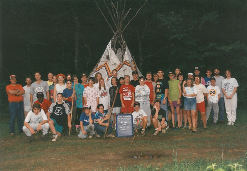Junior High Wilderness 3, July 26-August 1, 1992 Dave Malcomson, Dean