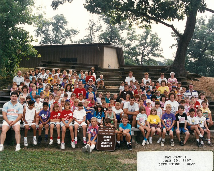Day Camp 1, June 30, 1992 Jeff Stone, Dean