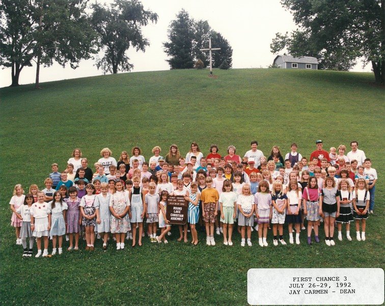 First Chance 3, July 26-29, 1992 Jay Carmen, Dean
