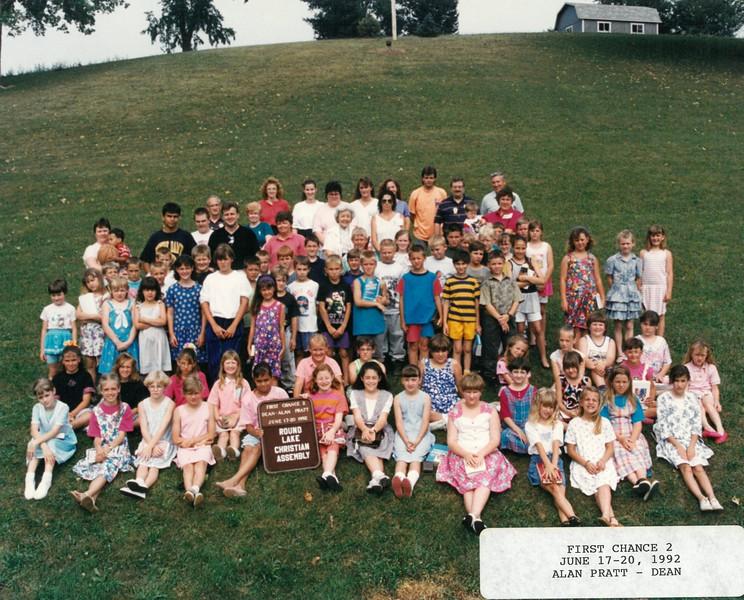 First Chance 2, June 17-20, 1992 Alan Pratt, Dean
