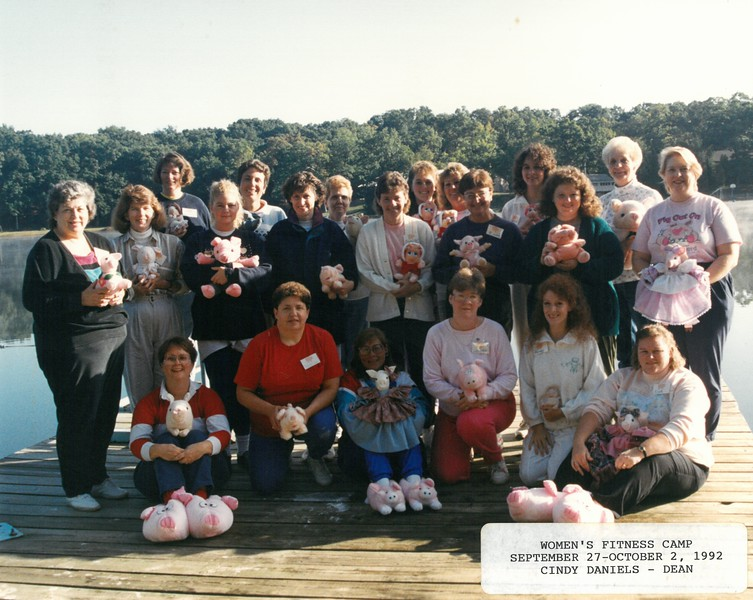 Women's Fitness Camp, September 17-October 2, 1992, Cindy Daniels, Dean-1