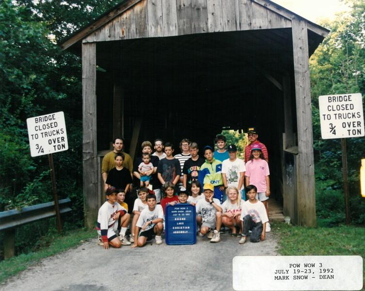 Pow Wow 3, July 19-23, 1992 Mark Snow, Dean