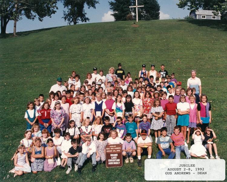 Jubilee, August 2-8, 1992 Gus Anderew, Dean