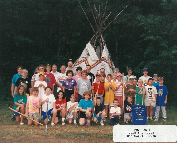 Pow Wow 1, July 5-8, 1992 Dan Gault, Dean
