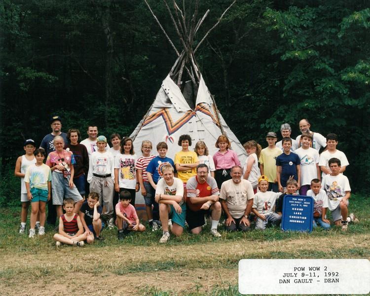 Pow Wow 2, July 8-11, 1992 Dan Gault, Dean