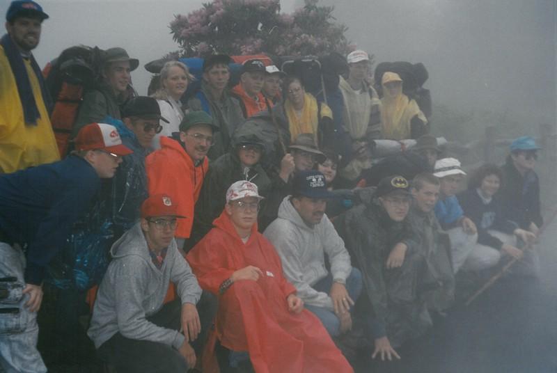 Appalachian Trail, July 4-11, 1992 Bill Fierbaugh, Dean