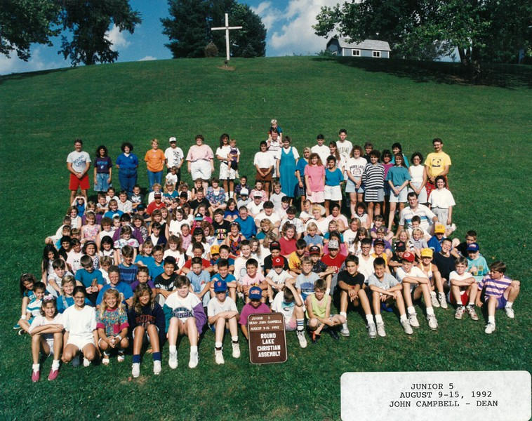 Junior 5, August 9-15, 1992 John Campbell, Dean