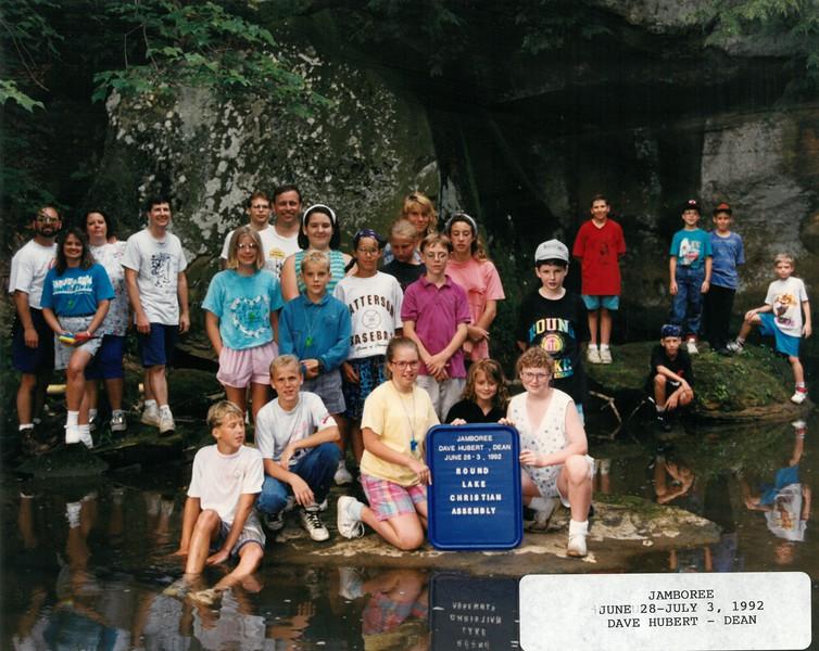 Jamboree, June 28-July 3, 1992 Dave Hubert, Dean