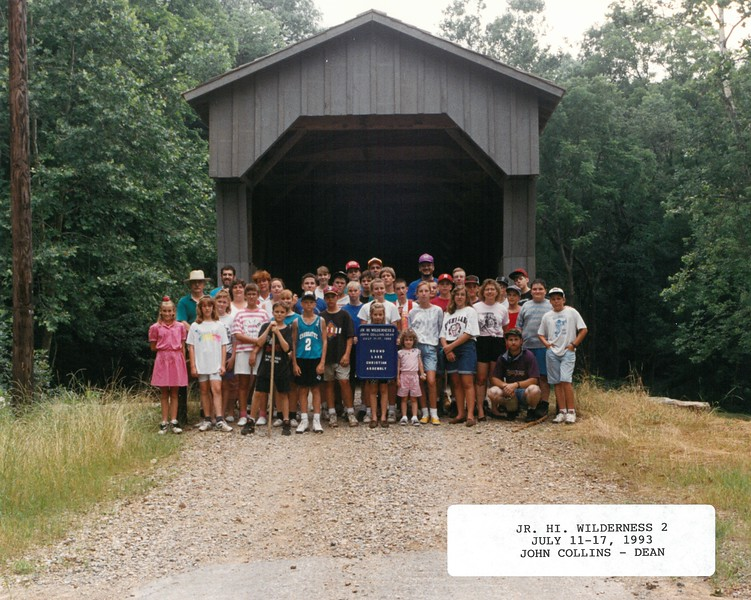 Junior High Wilderness 2, July 11-17, 1993 John Collins, Dean
