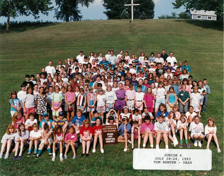 Junior 4, July 18-24, 1993 Tome Benter, Dean