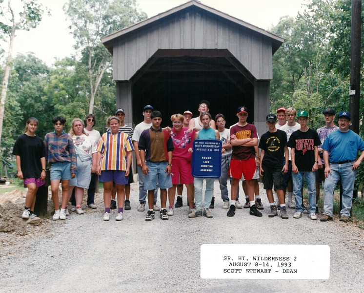 Senior High Wilderness 2, August 8-14, 1993 Scott Stewart, Dean