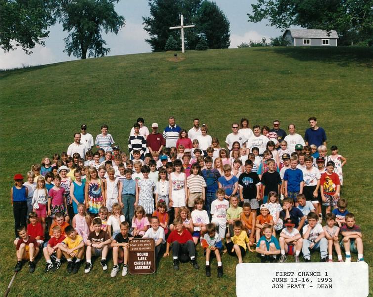 First Chance 1, June 13-16, 1993 Jon Pratt, Dean