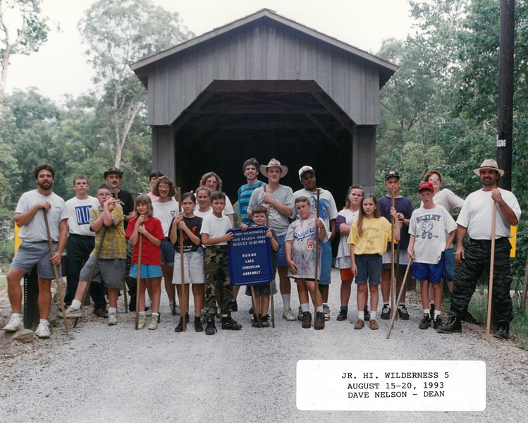Junior High Wilderness 5, August 15-20, 1993 Dave Nelson, Dean