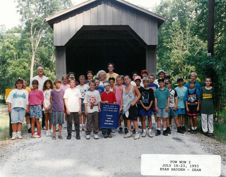 Pow Wow 2, July 18-23, 1993 Ryan Hayden, Dean
