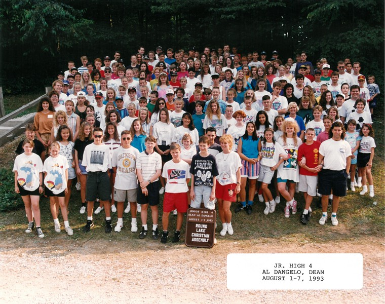 Junior High 4, Al Dangelo, Dean August 1-7, 1993