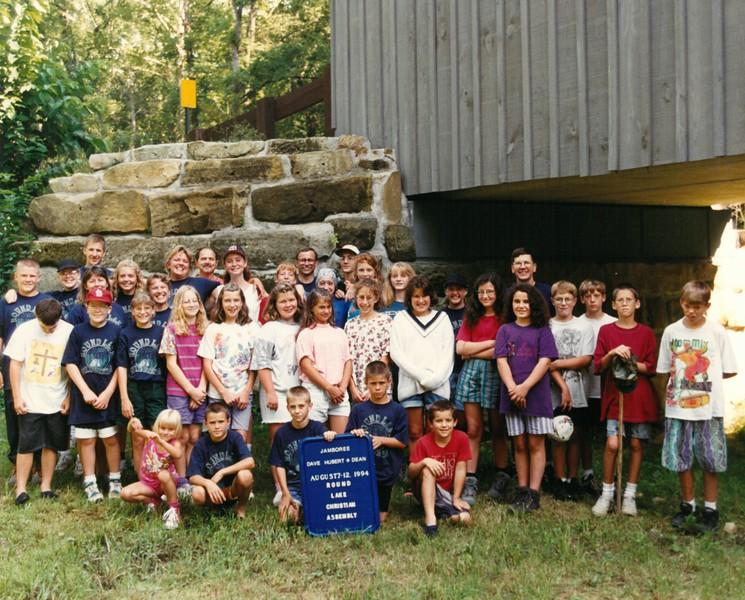 Jamboree, August 7-12, 1994 Dave Hubert Dean