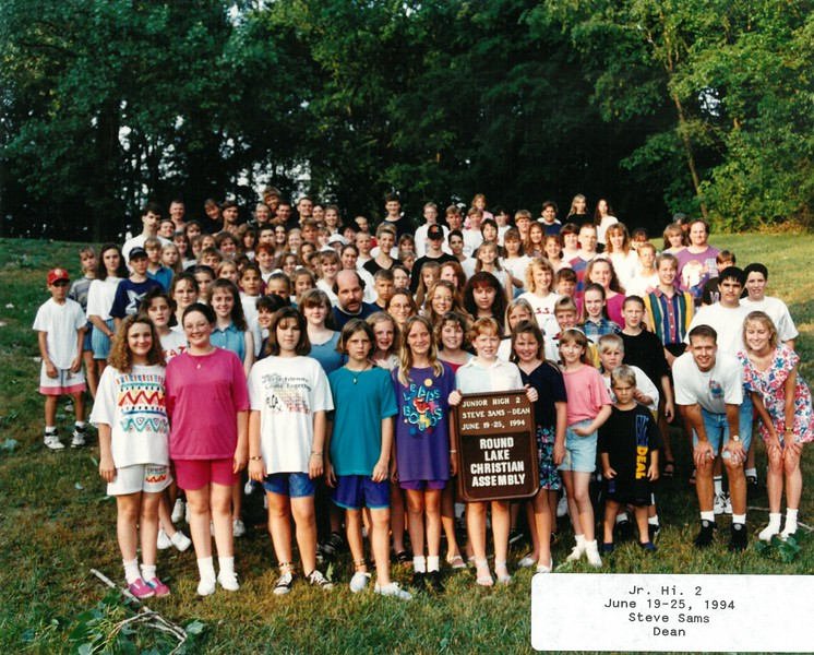Jr  Hi  2, June 19-25, 1994, Steve Sams Dean